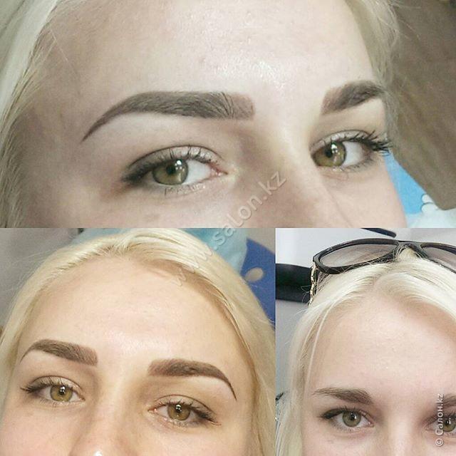Натуральный перманентный макияж